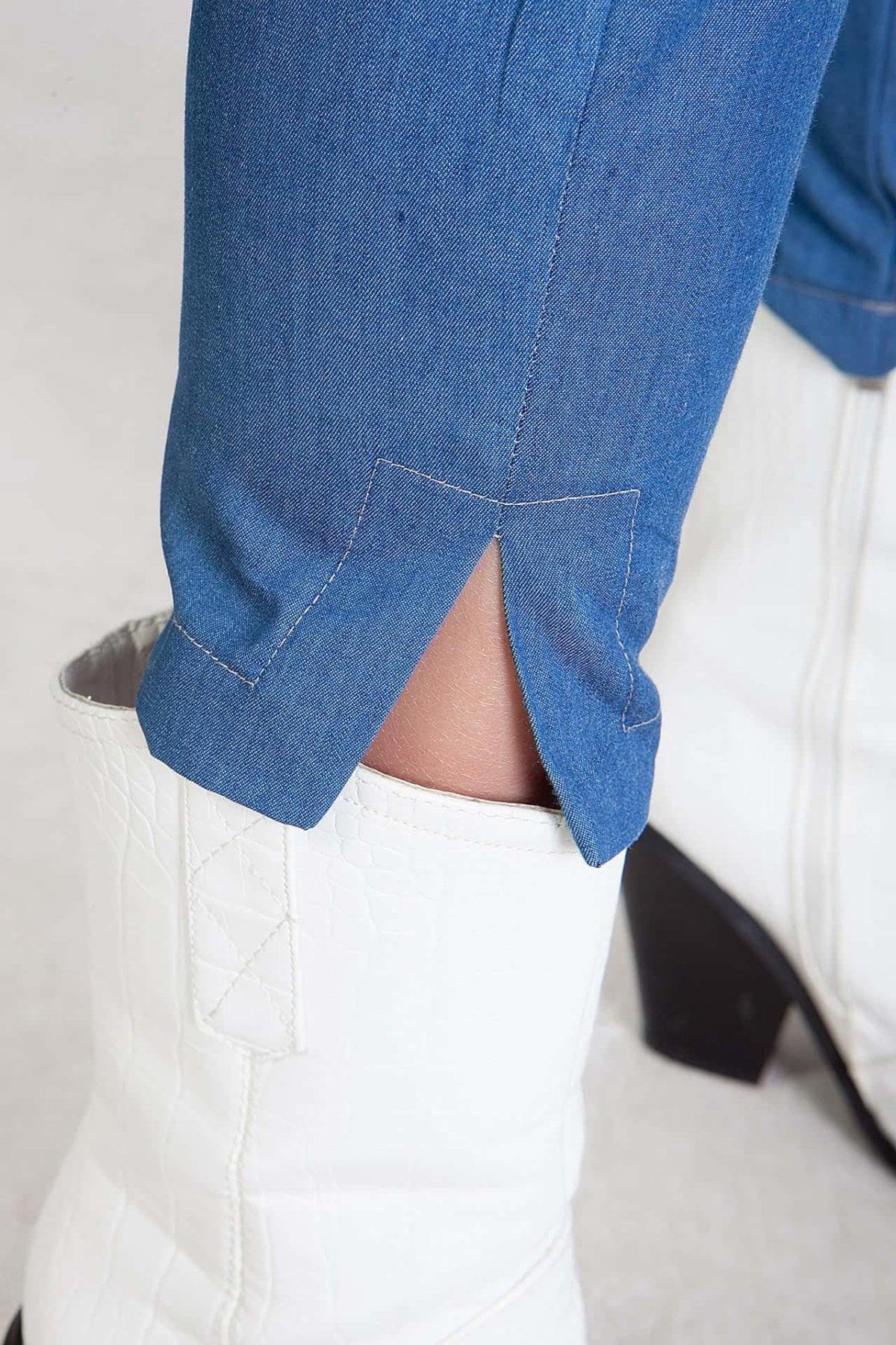 Capri παντελόνι denim Coocu