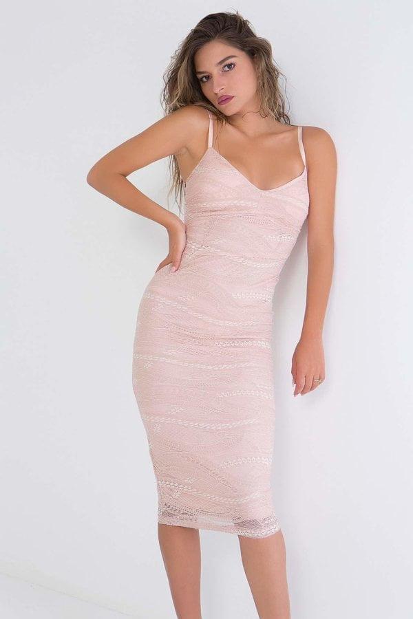 Φόρεμα midi Coocu