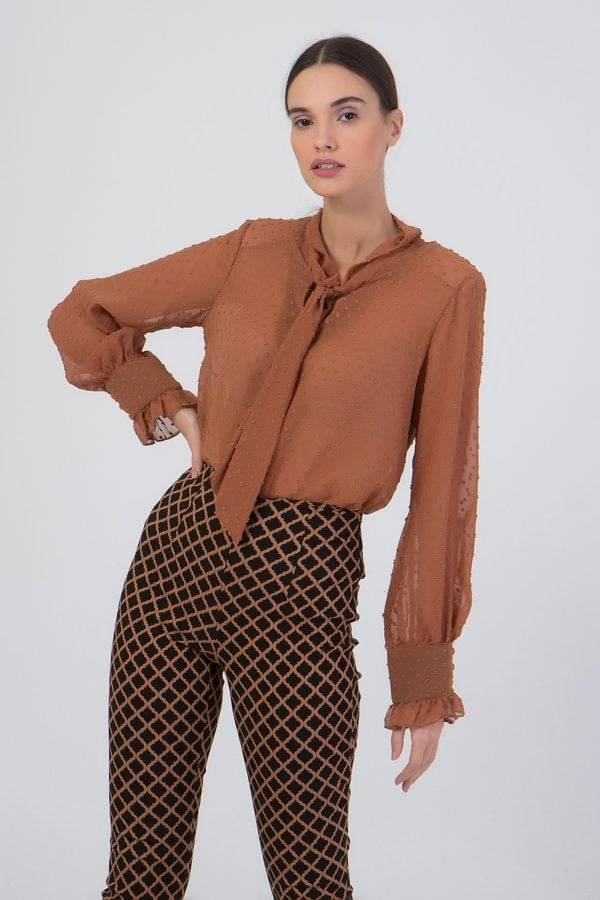 Mini φόρεμα πλεκτό ζιβάγκο Coocu