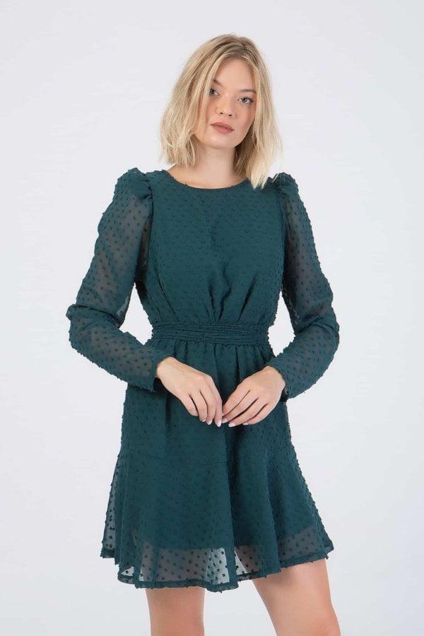 Φόρεμα με ζώνη Benissimo
