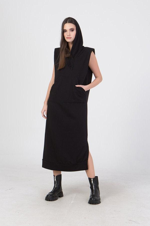 Φόρεμα με κουκούλα Benissimo