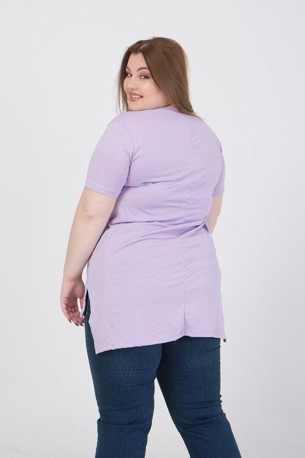 Μπλούζα με στρογγυλή λαιμόκοψη και με τύπωμα ΗΟΝΕΥ
