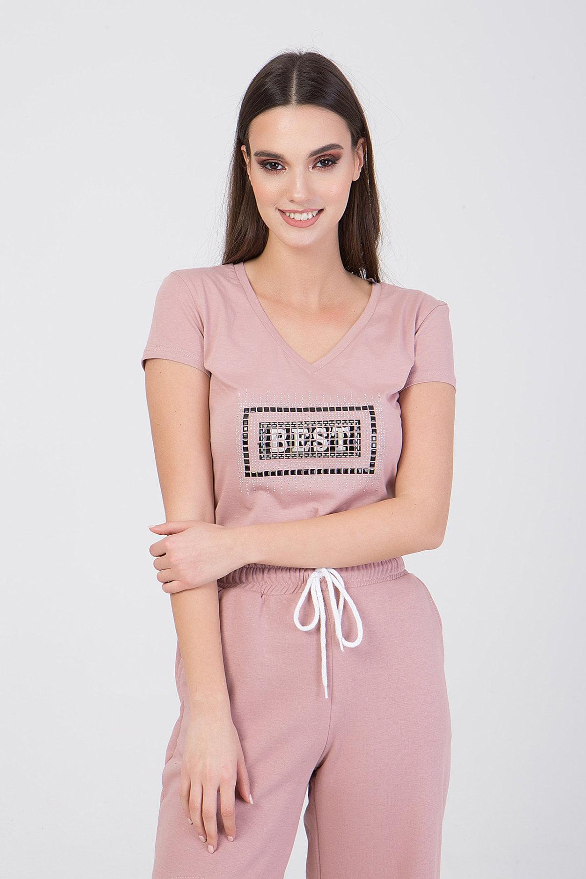 """Μπλούζα με τύπωμα """"BEST"""" Frozen Berry"""