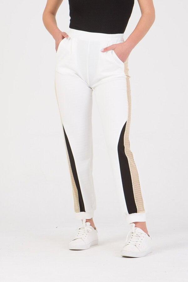 Παντελόνι με λάστιχο και δίχτυ στο πλάι Benissimo