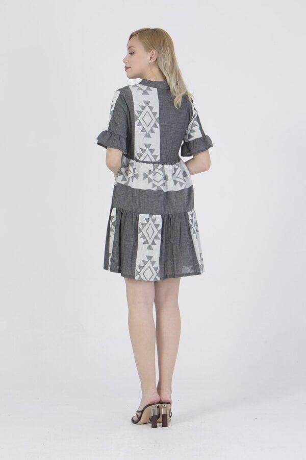 Φόρεμα κοντό με σχέδια Benisssimo