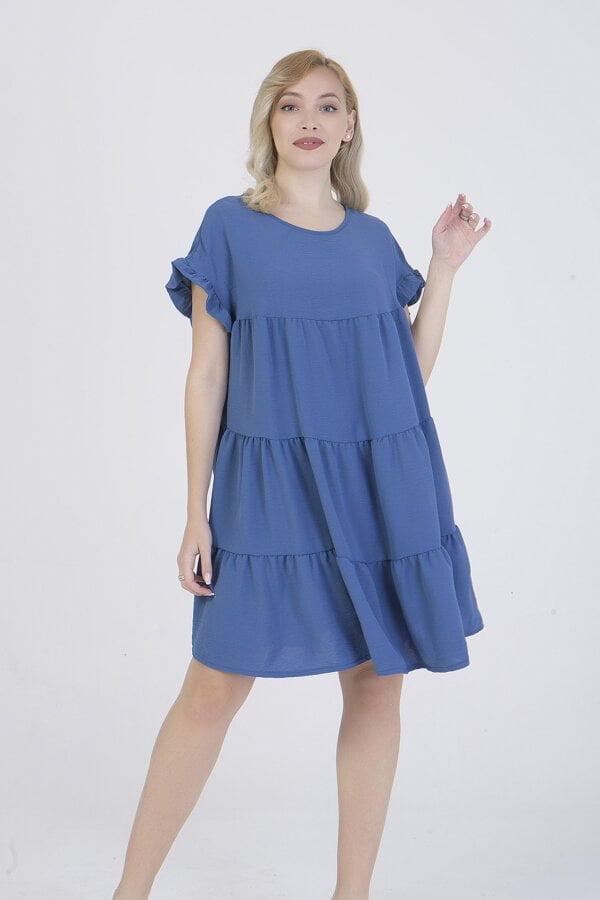 Φόρεμα κοντό με βολάν στο τελείωμα Benissimo