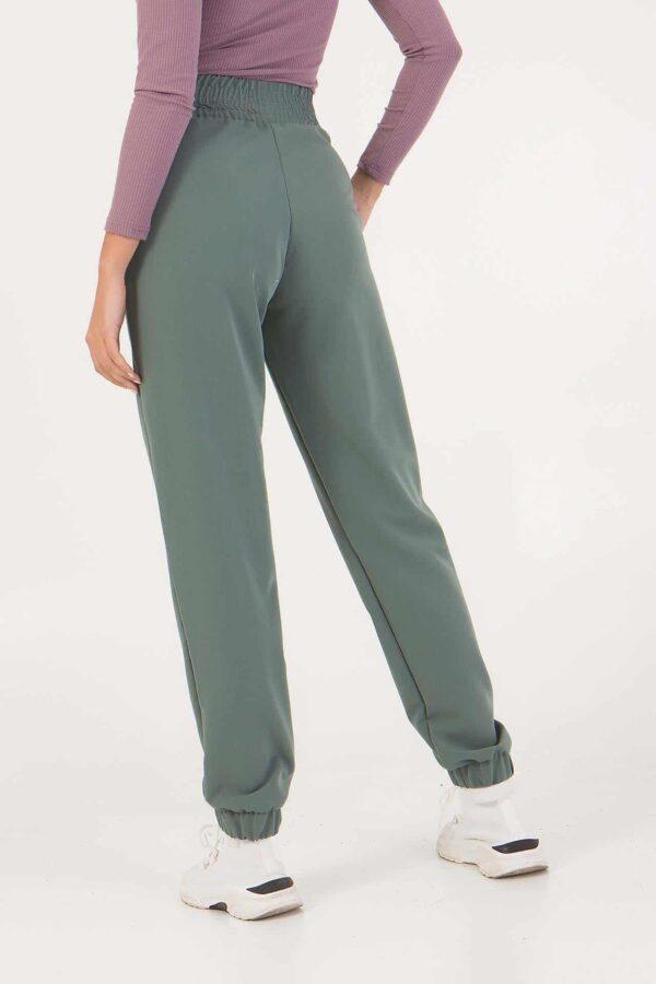 Παντελόνι φούτερ με λάστιχο στο τελείωμα και λάστιχο στη μέση Benissimo