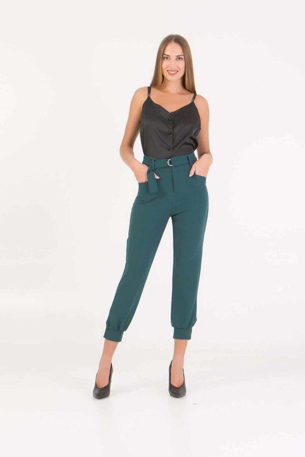 Κάπρι παντελόνι με ζώνη στην μέση Benissimo